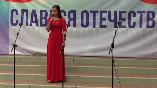 Фрагмент концерта ко Дню России. Белгородский Дом офицеров. 12.06.2017