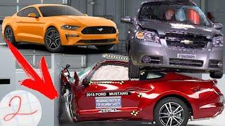 10 ЗАЯДЛЫХ ДВОЕЧНИКОВ КРАШ-ТЕСТОВ EURO NCAP! Этим автомобилям НЕ место на дорогах!