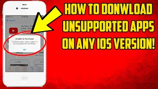 How To Download Unsupported Apps On iOS! 2020! screenshot 1