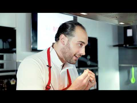Джакомо Понтекорво готовит на кухне Bosch.Сицилийская кухня.
