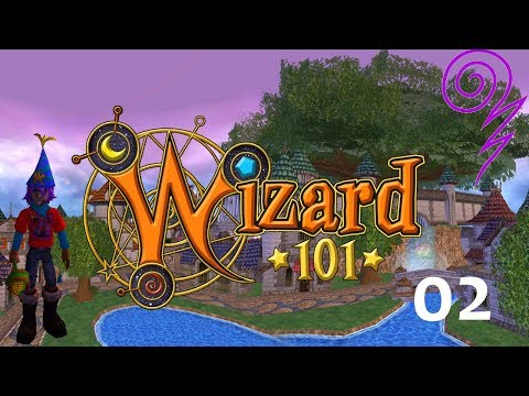 Let's Play Wizard101: Triton Avenue, Episode 2 - Main Quests