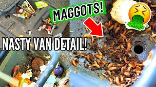 Deep CLEANING A Maggot Infested Honda Odyssey Minivan! Dirtiest Car Detailing
