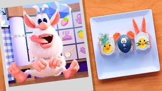 Буба Шеф повар Пасхальные яйца Сборник смешных серий Смешной Мультфильм 2020 Мультики