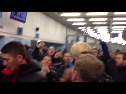 Liverpool fans singing pre-match at Man City away Etihad Stadium