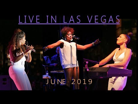 Althea Rene, Selina Albright, Kayla Waters, Jazz in the Park, Live in Las Vegas 2019
