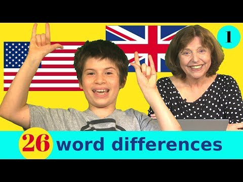 26 British And American Word Differences
