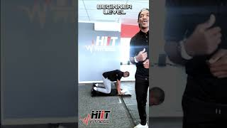 HIIT Fitness Form Friday: Push Up Thruster