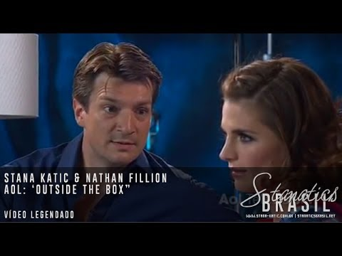 "Stana Katic & Nathan Fillion - ""Castle"" Outside the Box (Legendado)"