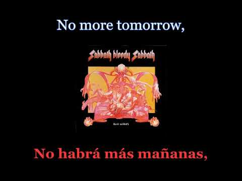 Black Sabbath - Sabbath Bloody Sabbath - 01 - Lyrics / Subtitulos en español (Nwobhm) Traducida mp3
