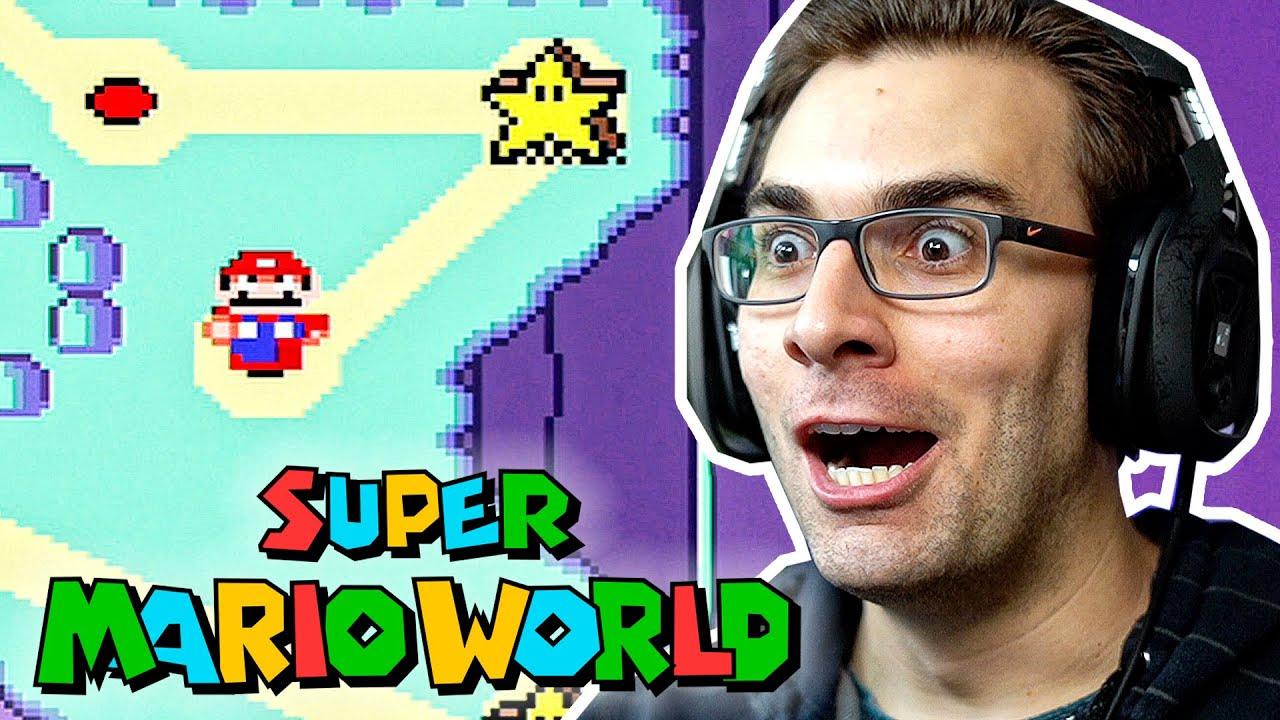 SUPER MARIO WORLD #3 - Arriscando no STAR WORLD!!!