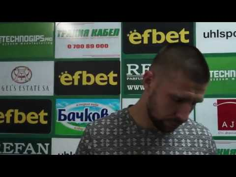 Мнението на Иван Бандаловски след победата над