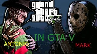 JASON VOORHEES VS FREDDY KRUEGER (IN GTA V) (MARK