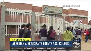 Temor en Soacha por inseguridad: Asesinaron a menor frente a colegio