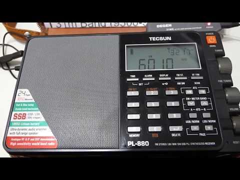 6010 kHz - CHINA RADIO INTERNATIONAL (Chaozhou)
