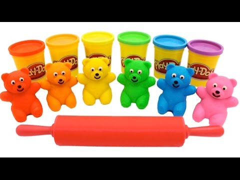 Thumbnail: Learn Colors Play Doh Ice Cream Popsicle Peppa Pig Elephant Molds Fun & Creative for Kids Rhymes RL