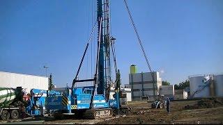 Bohrgerät Woltman THW-5525D / Drilling rig Woltman THW-5525D