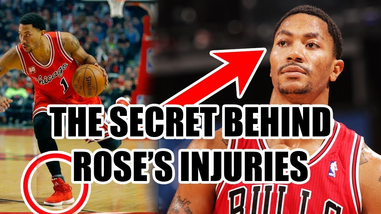 85241bed447 Why Derrick Rose Keeps INJURING His Knees In The NBA - YouTube