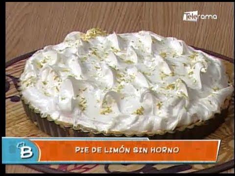 Pie de limón sin horno