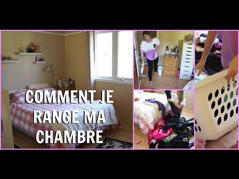 comment je range ma chambre mes trucs pour la garder en ordre youtube. Black Bedroom Furniture Sets. Home Design Ideas