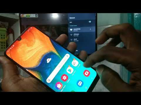 How To Do Screen Mirroring In Samsung Galaxy A30