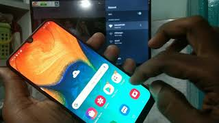 how to do screen mirroring in Samsung Galaxy A10