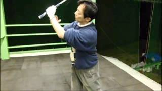 アーリーリリースを防ぐ効果的ゴルフ練習法クロスハンドグリップドリル thumbnail