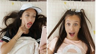 CHILD vs TEEN: MORNING ROUTINE!    DAILY TWINLIFE