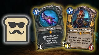 7 NEW HEARTHSTONE INTERACTIONS (Kingsbane, Lynessa Sunsorrow) | Kobolds and Catacombs