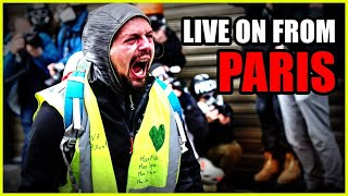 LIVE From Paris With The Yellow Vest Protests