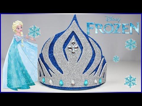 Disney Princess Elsa Crown Nursery Rhymes | How To Make Disney Princess Headband