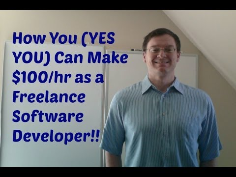How To Make $100/hr as Freelance Software Developer