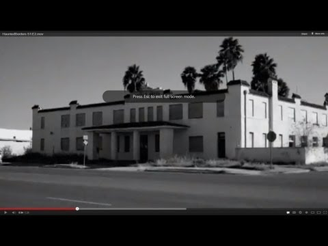 HAUNTED SOUTH TEXAS HOTEL - UNSEEN FOOTAGE