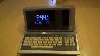 MZ-2000を時計にしてみた