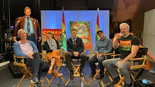 LIVE Q&A With Conan & His #ConanGhana Crew
