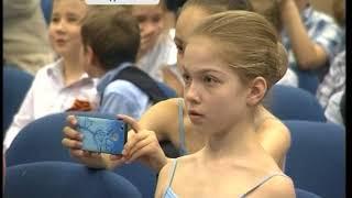 Филиал Академии Русского балета провел открытый урок для детей Приморья
