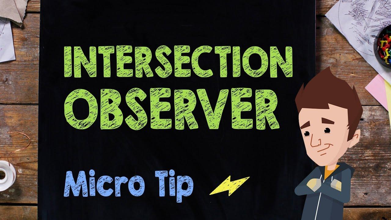 Trust is Good, Observation is Better—Intersection Observer v2 | Web