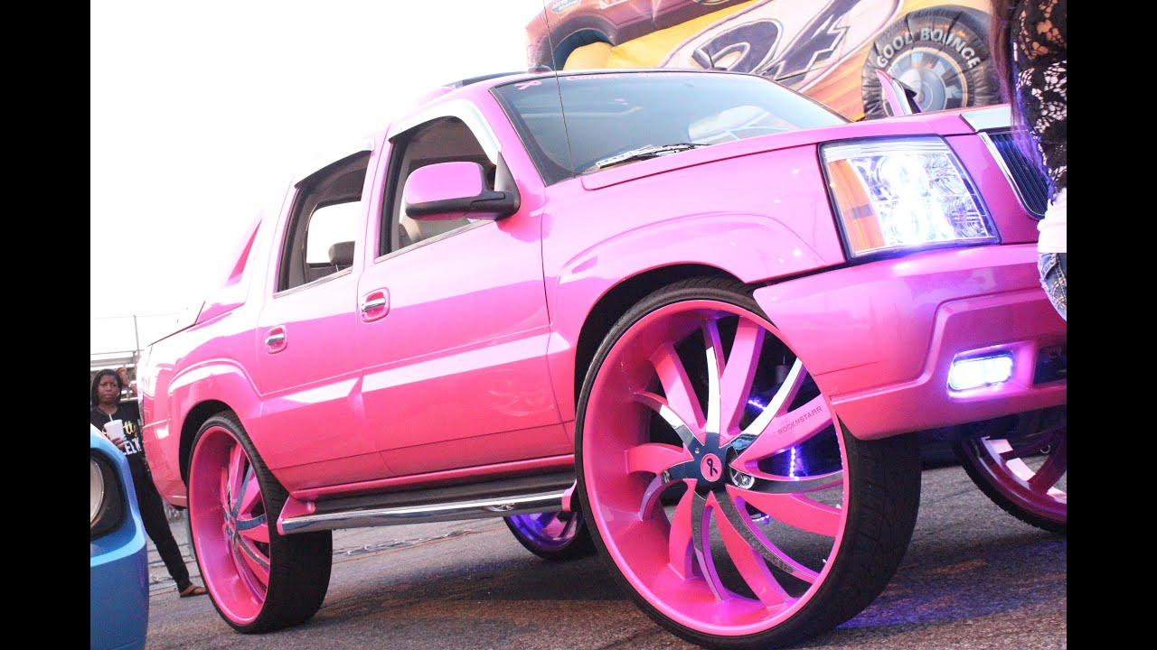 Veltboy314 - Outrageous Pink Cadillac Escalade on 34 ...