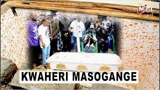 MAZISHI YA AGNES MASOGANGE KUFURU, KABURI LIMEJENGWA KWA MARUMARU