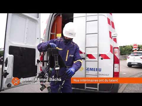 Ben Ali Ahmed Bacha, Technicien de mesures