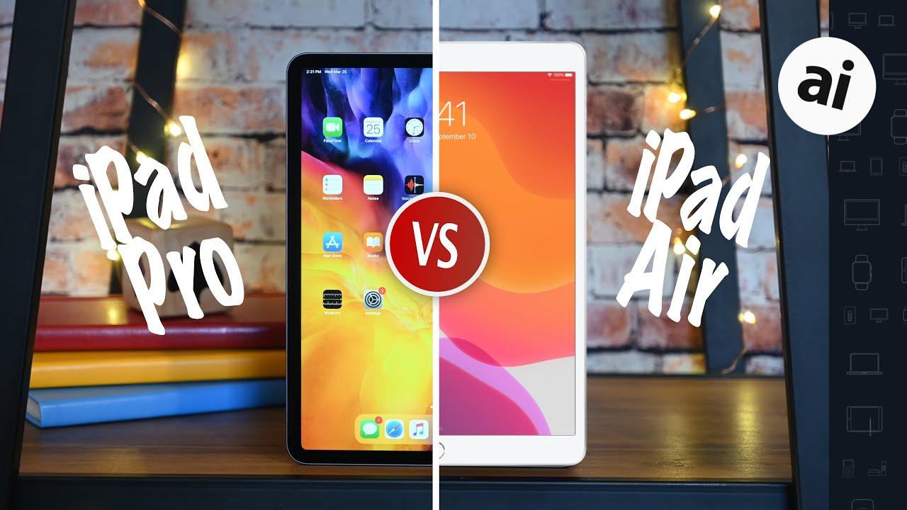 2020 iPad Pro VS 2019 iPad Air -- Ultimate Comparison! - AppleInsider