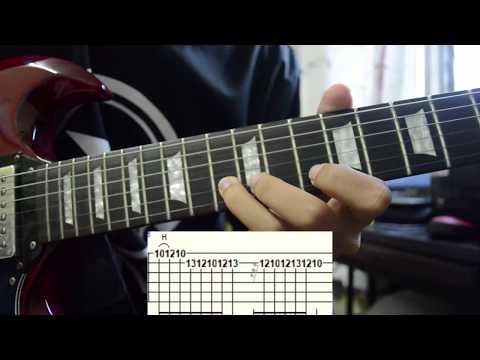 Kugiran Masdo - Teruna dan Dara Lead Guitar Tutorial w/ Tab