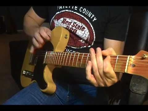 Nash T52 Tele - Bm Improv Jam (mydarnjamtracks)