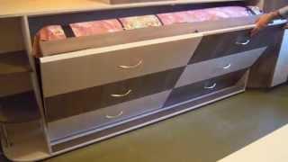 Трансформер комод-кровать(Детская под заказ. Кровать-трансформер в комод. http://angelikameb.esy.es., 2014-05-21T11:12:47.000Z)
