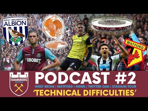CARROLL OUT FOR LONG? IS MITROVIC WRONG? WHERE'S BILLY GONE? - Hammers Opinions Podcast #2