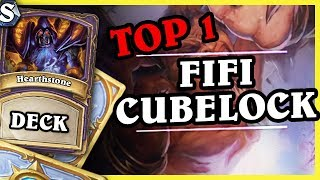 Top1 Legend Fifi CUBELOCK - Hearthstone Deck Std (K&C)
