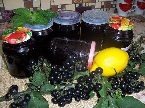 Как варить варенье из черники форте с лимоном
