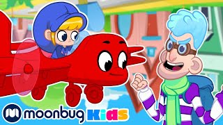 MORPHLE - The Gravity Bandits | Kids Fun & Educational Cartoons | Moonbug Play and Learn