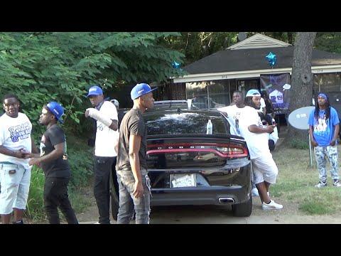 Visiting  Memphis Crips   Hood Vlogs