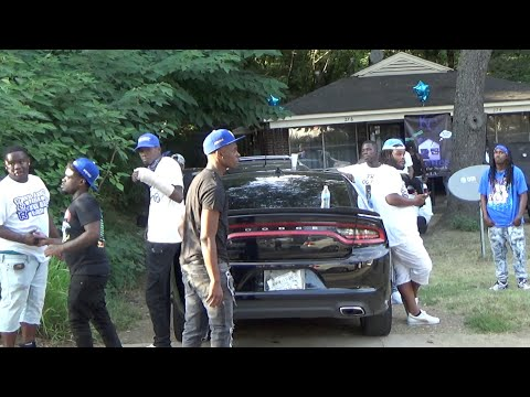 Visiting  Memphis Crips | Hood Vlogs