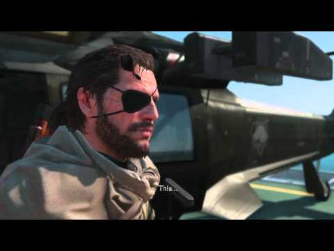 MGSV - D-Dog found and sent to mother base